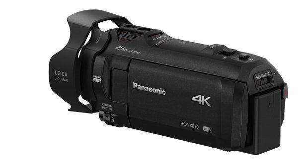 Panasonic tuo 4k-videokameran 1000 euron hintaluokkaan