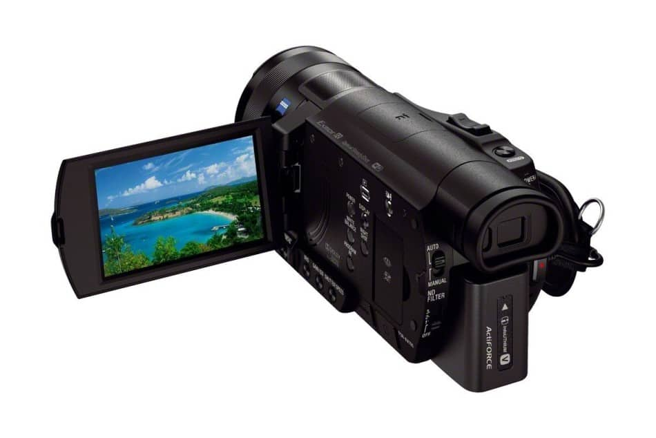 Sony-FDR-AX100-4K-Camcorder