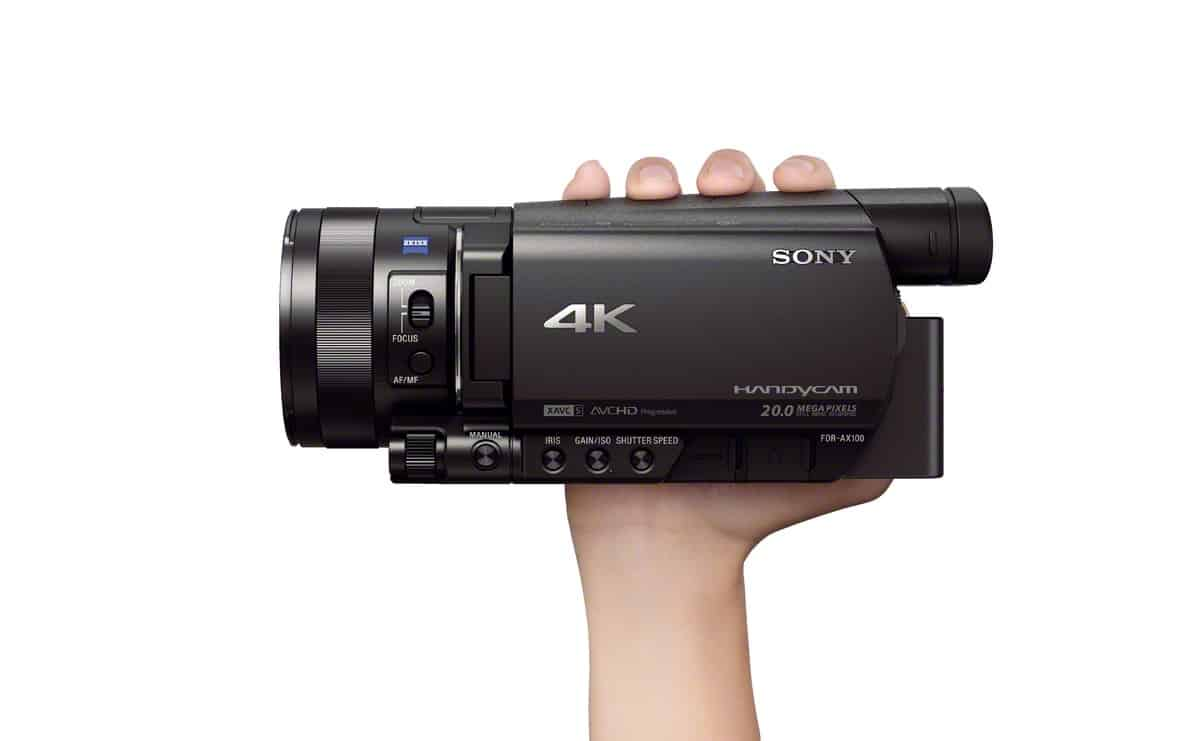 Video for 4K Handycam FDR-AX100