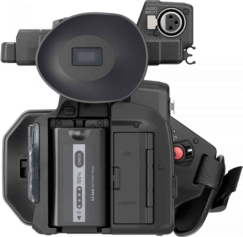 With the HC-X1000, Panasonic has merged a consumer camcorder with a