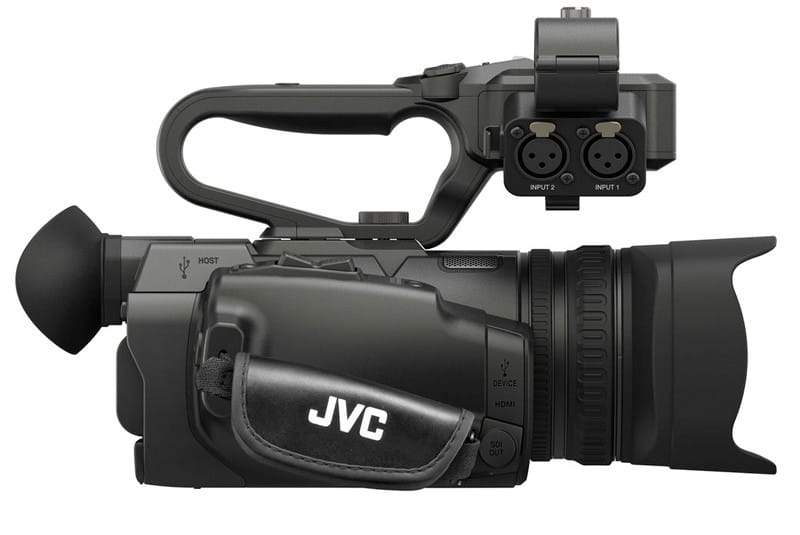 jvc gy hm200 camcorder full featured 4k ultra