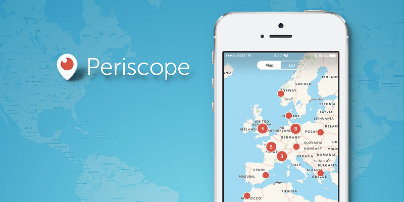 Periscope, Live Video Apps