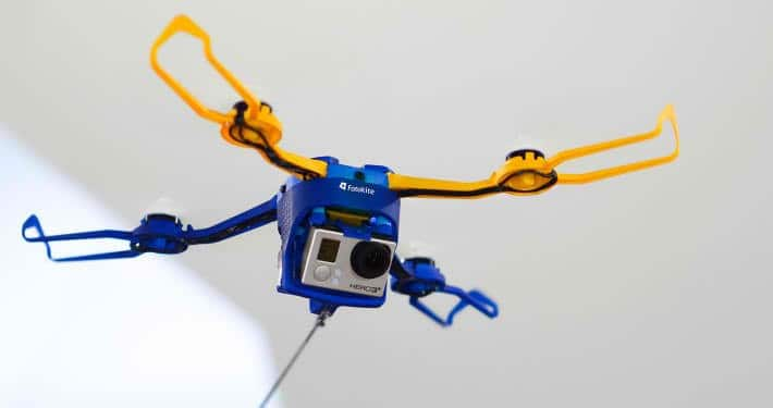 Fotokite Phi, aerial camera, quadcopter