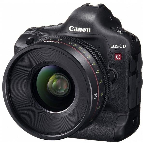 Canon EOS-1D C, Canon 4K DSLR, EOS-1D C