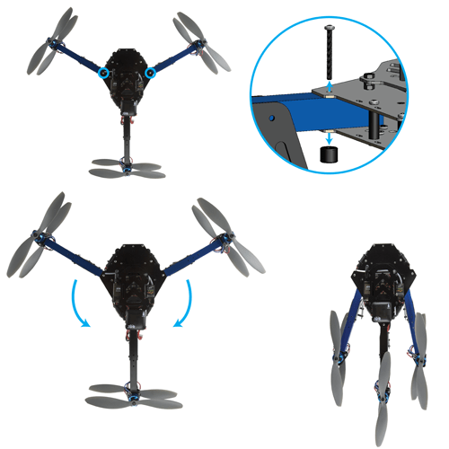 3D Robotics Y6 RTF, 3D Robotics multicopters, 3D Robotics RTF multicopters