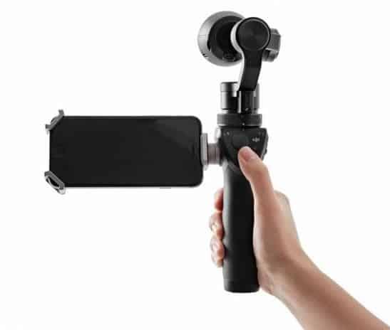 DJI Osmo, DJI 4K Camera, 3-Axis Gimbal Stabilizer,