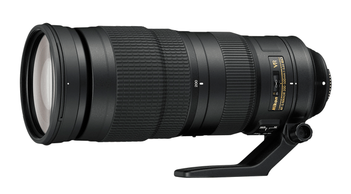 Nikon Lens, 200-500mm f/5.6E ED VR, DSLR lens, camera lens