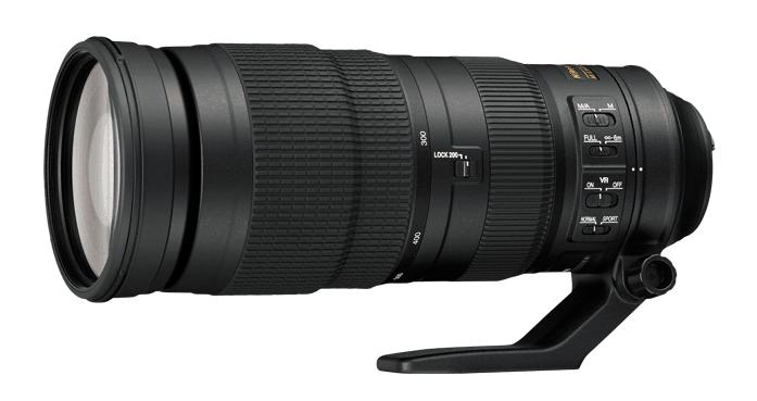 AF-S NIKKOR 200-500mm f/5.6E ED VR, super telephoto zoom lens, zoom lens