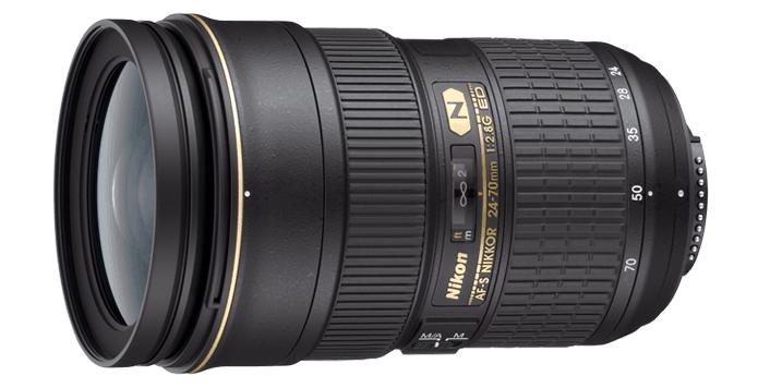 Camera Lens, Nikon lens, AF-S NIKKOR 24-70mm f/2.8G ED