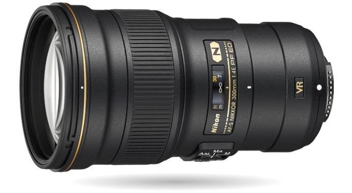 Camera lens, Nikon lens, Nikkor 300mm f 4E PF ED VR