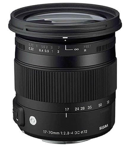 Camera lens, Nikon lens, Sigma 17-70mm F2.8 4 DC Macro OS HSM