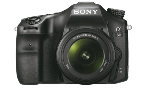 Sony A68, Sony 24MP camera, Sony A-mount lense
