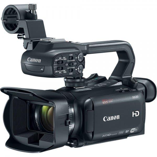 Canon XA30, professional camera, HD camcorder