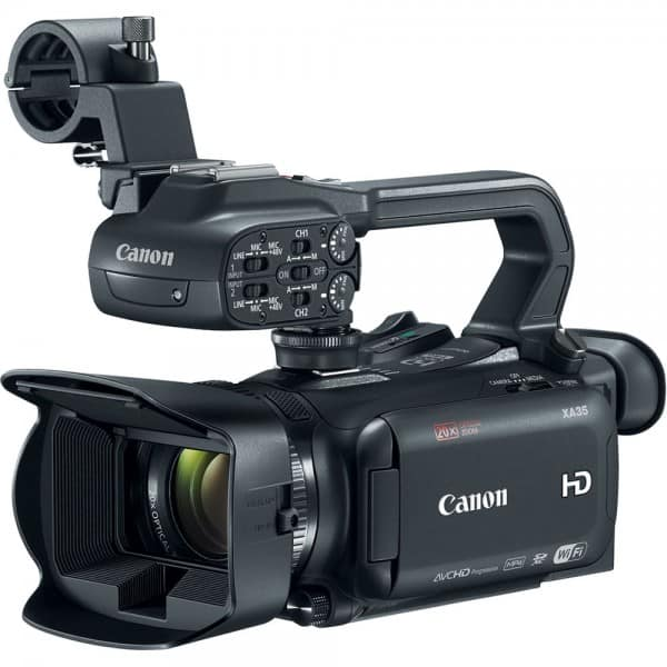 XA35, Canon camcorder, compact professional camcorders
