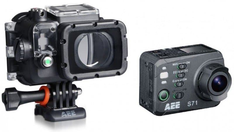 AEE S71, 4k sports camera, 4k action cam