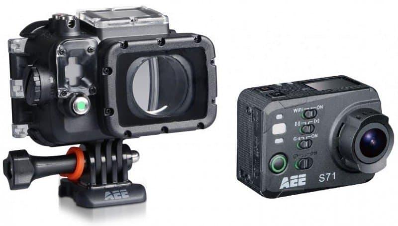 AEE S71, 4k sports camera, 4k action cam