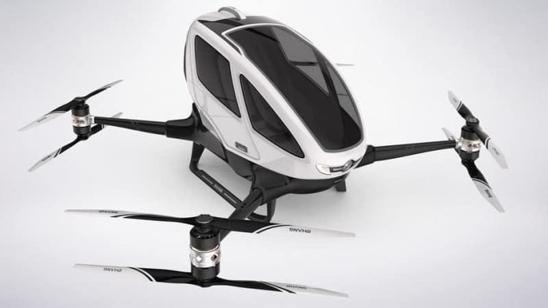 EHANG 184, CES 2016 Drones, EHANG 184