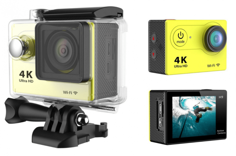 Haip, 4k action camera, Haip review