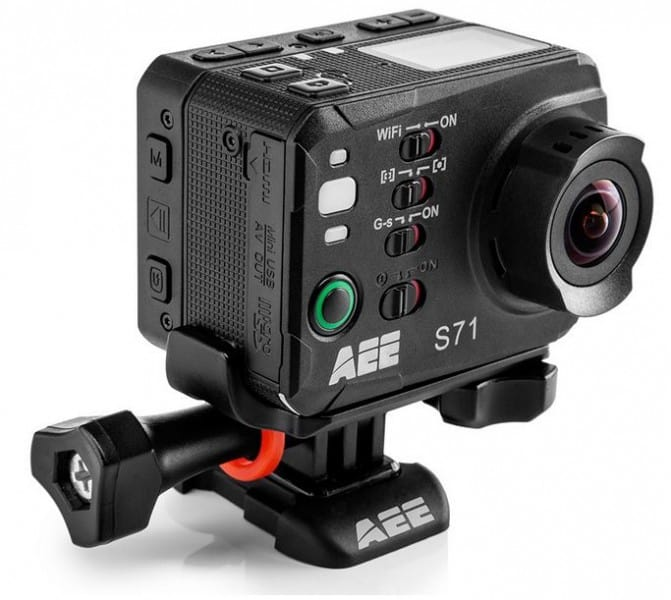 AEE S71 magiCam, AEE S71 design, AEE S71 features