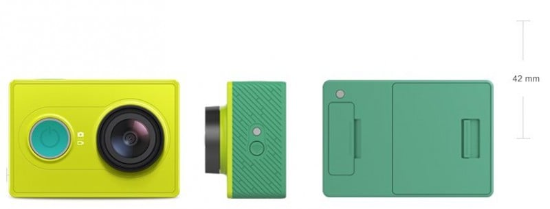 Xiaomi Yi action cam, Yi lime green, Yi features