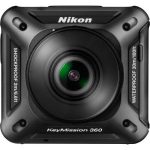 Nikon KeyMission 360, Nikon action camera, Keymission 360