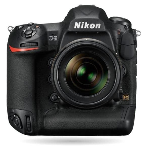 Nikon D5, Nikon 4K camera, Nikon DSLR