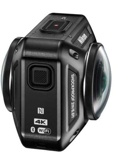 KeyMission 360 features, KeyMission 360 specs, 4k action camera