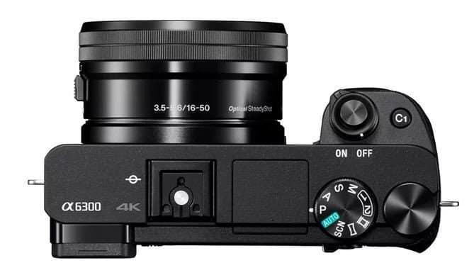 Sony α6300 camera, Sony 4K camera, α6300 4D FOCUS