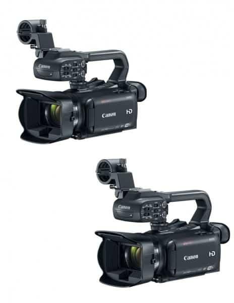 Canon XA30, Canon XA35, Canon 4K camcorders