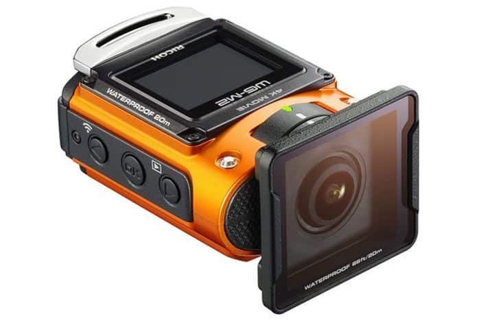 Ricoh WG-M2, 4K sports camera, WG-M2 features