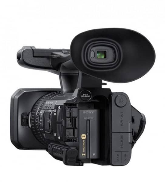 PXW-Z150, Sony pro camcorder, Sony 4K video camera