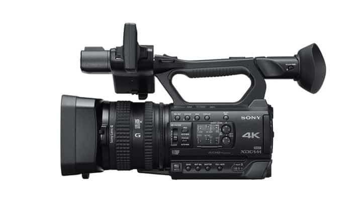 Sony PXW-Z150 4K, Sony 4K camcorder, Sony 4K Ultra HD