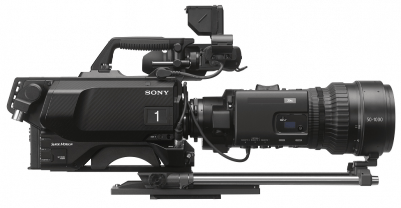 HDC-4800, Sony 4K camera, super 35mm CMOS sensor