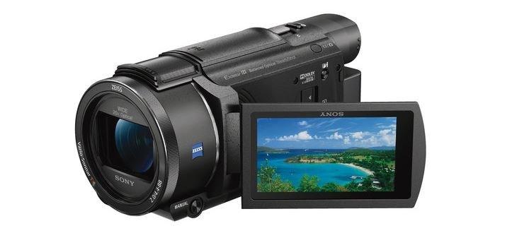 Sony AX53, AX53 4K handycam, FDR AX53