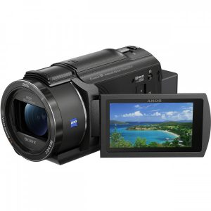 best sony 4k camcorder ax43