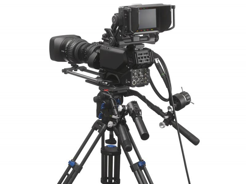 Sony video camera, 4K procamcorder, Sony HDC-4800 features