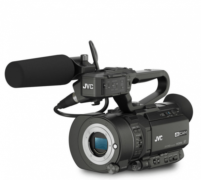 JVC GY-LS300, 4K camera, 35mm Handheld Camcorder