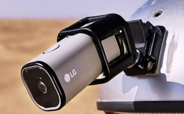 action camera, LG LTE action cam features, LG LTE action cam specs