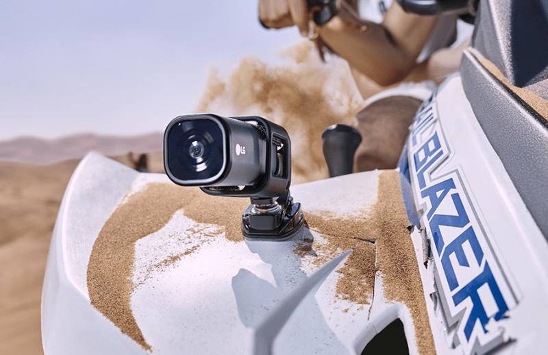 LG action cam, LG camera