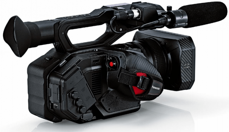 AG-DVX200 design, AG-DVX200 specs, 4K procamcorder