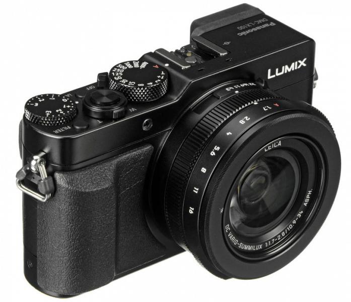 Panasonic 4K camera, 4K DSLR, Lumix DMC-LX100