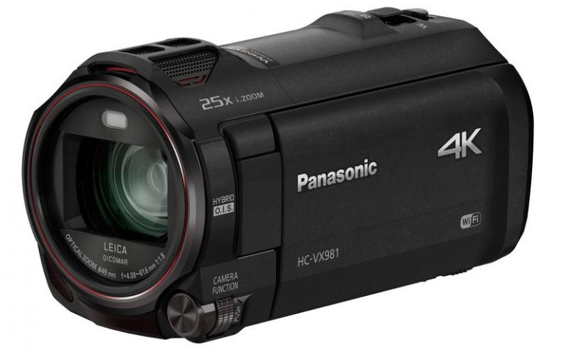 HC-VX981, Panasonic camcorders, 4K camcorders