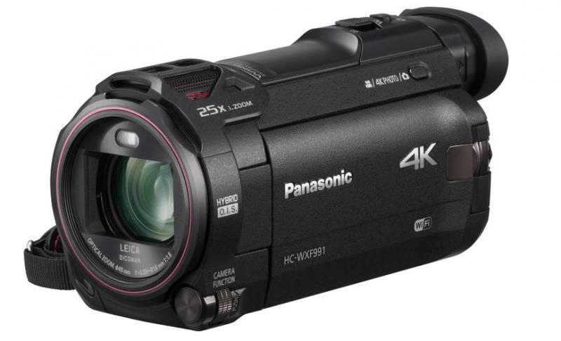 Panasonic cameras, HC-WXF991, UHD camcorder