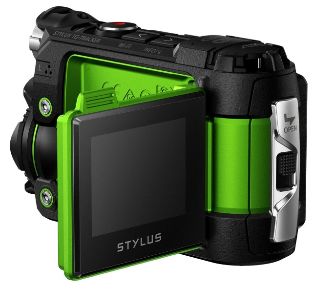 Olympus action cam, sports camera, 4K UHD camera