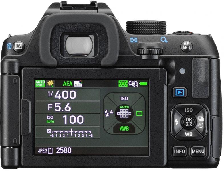 Pentax K-70 LCD, professional DSLR, Pentax K-70 features
