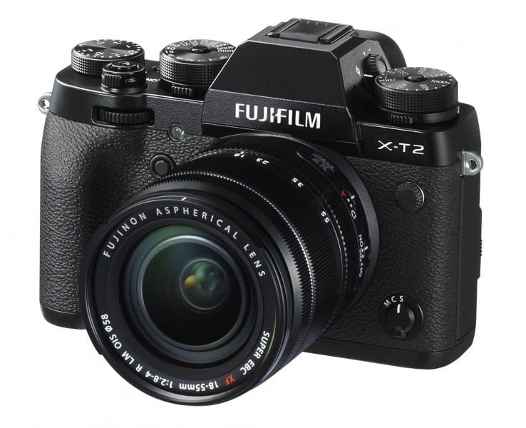 Fujifilm X-T2, 4K camera, mirrorless camera