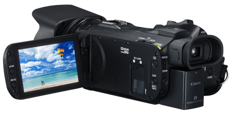 VIXIA HF G40 review, Canon procamcorder, handy camera