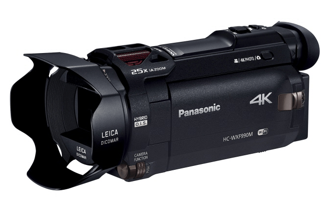 Panasonic 4K camcorder, Panasonic twin camera, 4K camera