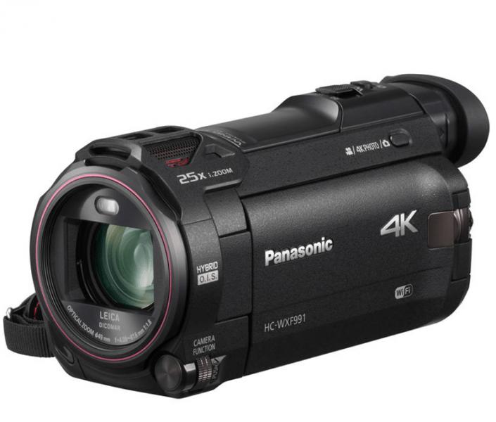 Panasonic HC-WXF991K review, Panasonic 4K camcorder, HC-WXF991K
