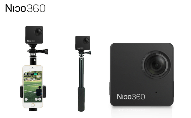 Nico360, 360-degree camera, VR camera